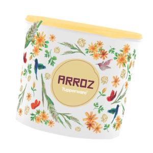 Tupper Caixa Arroz 5Kg Floral