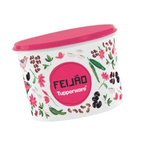Tupper Caixa Feijão 2kg Floral
