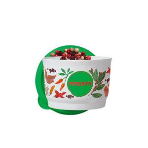 Tupper Potinho Pimenta 140ml Floral
