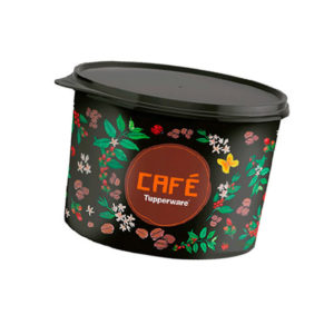 Tupper Caixa Café 700g Floral