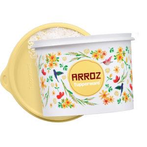 Tupper Caixa Arroz 2Kg Floral